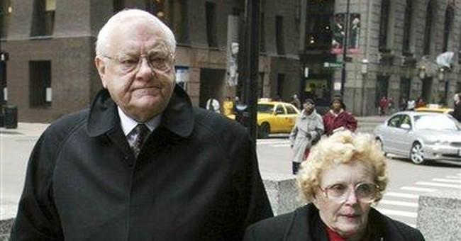 Ex-Ill. Gov. George Ryan's wife dies at age 76