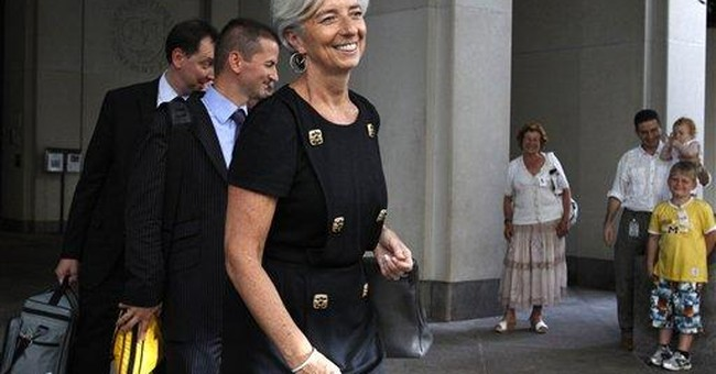 Combative new IMF chief takes on new challenge