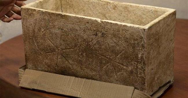 Israeli scholars say biblical burial box genuine