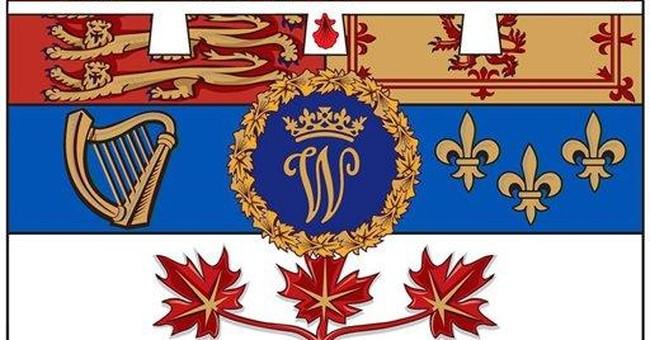 Canada unveils flag for Prince William