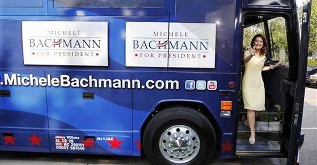 Public money puts Republican Bachmann on defensive