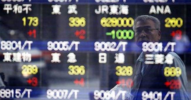 World stocks up on hopes of Greece debt resolution