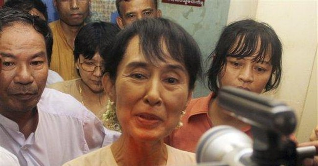 Myanmar warns Suu Kyi her tour could trigger riots
