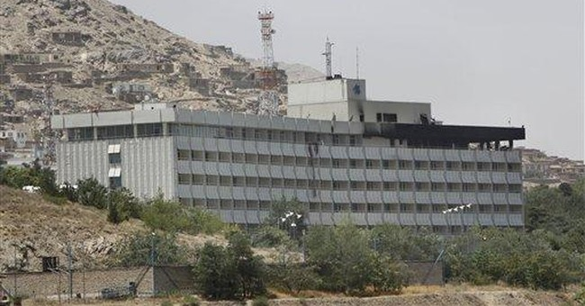 Afghan attack left mass of bodies at luxury hotel