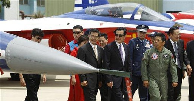 Taiwan unveils upgraded fighter jet