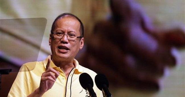Aquino says he's ridding Philippines of apathy