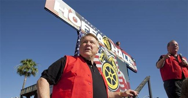Hoffa rival wants to be 1st female Teamsters prez