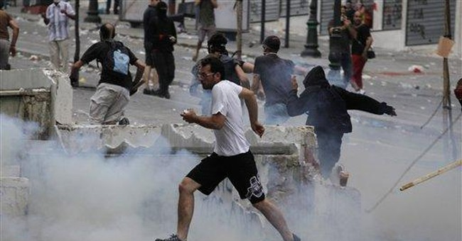 Greek riots: ritual outlet for frustrated nation