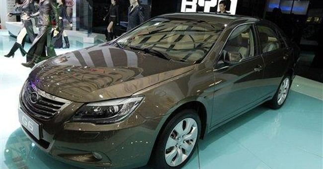 China's Buffett-backed BYD shares surge on debut