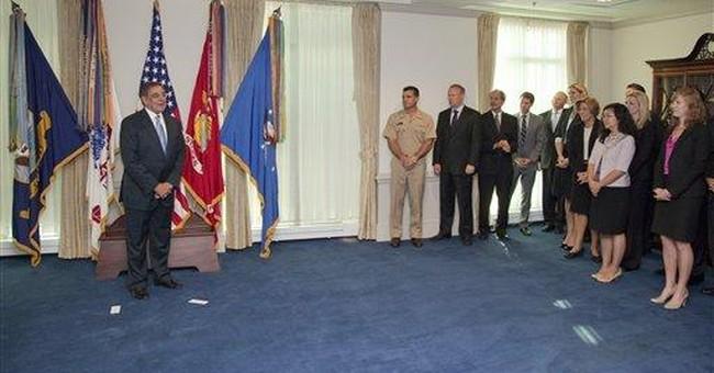 Panetta takes over at Pentagon, cites priorities