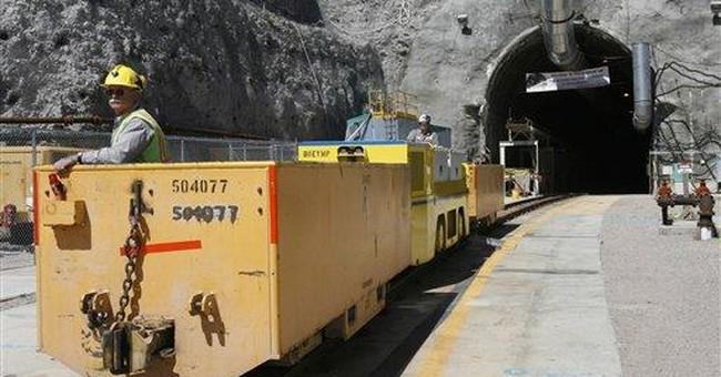 Appeals court dismisses nuclear waste suit