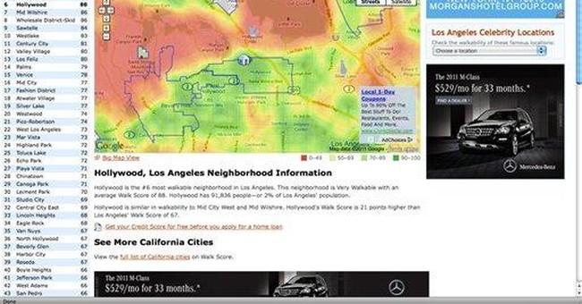 Review: Sites break down neighborhood traits