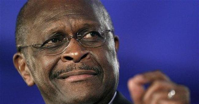 Herman Cain revs up mainstream conservatives