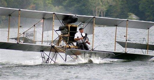 Crash scuttles NY museum's 1911 Navy flight event