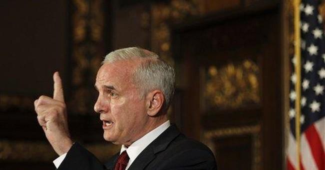 Minnesota Dem gov fights GOP's 'no new tax' stance
