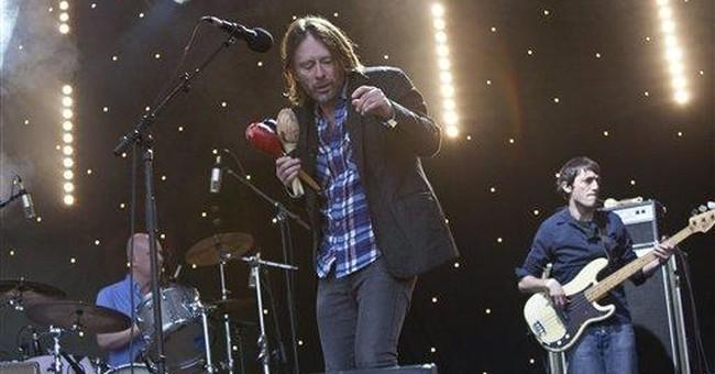 Radiohead ventures into Chinese social media