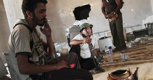 Libya sees some progress in talks with rebels