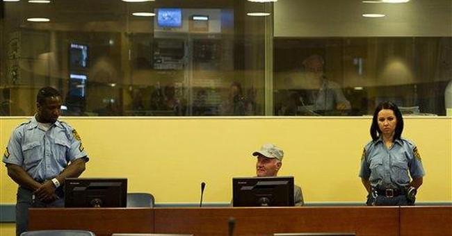 Mladic disrupts war crimes court, gets ejected