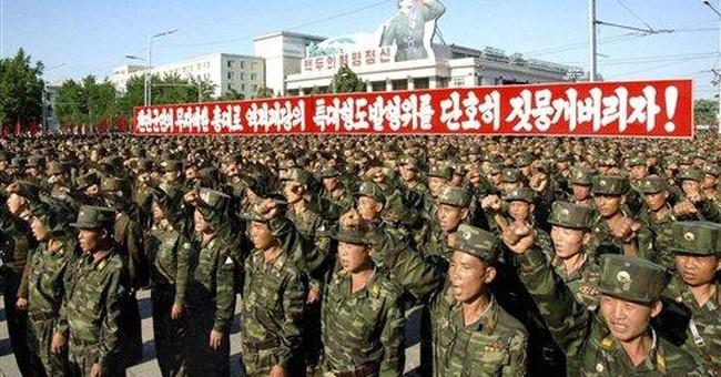 NKorea holds massive rally condemning SKorea gov't