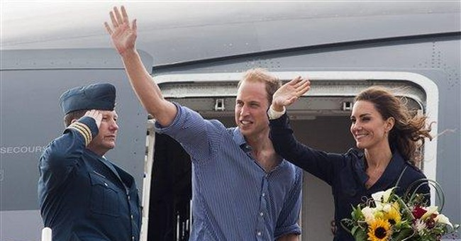 Prince William performs water landings in Canada