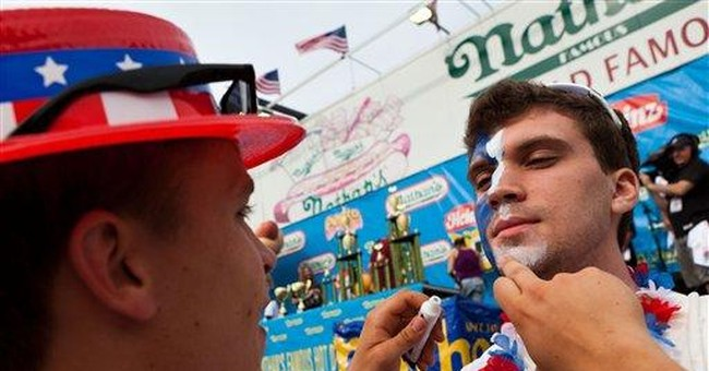 Fireworks, parades, 62 hot dogs: US celebrates 4th
