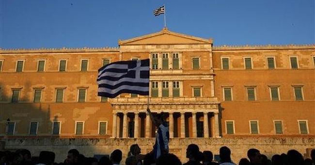 S&P warns bank plan would cause Greek default