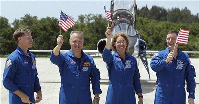 Storms may wash out last space shuttle launch Fri.
