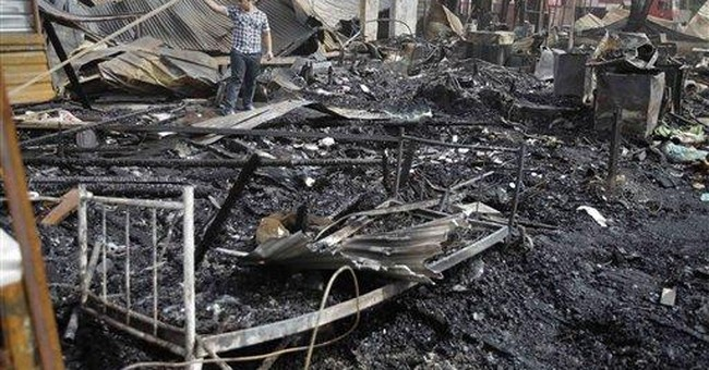 Double bombing kills 37 at Iraqi government office