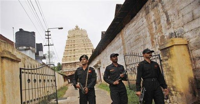 Indian state caught in debate on temple's treasure