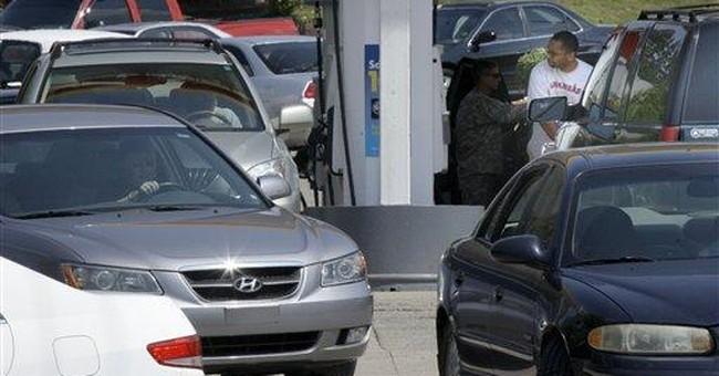 Oil settles near $97 per barrel