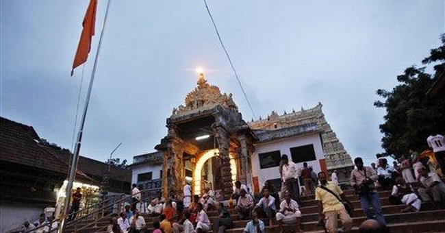Indian court orders security for temple treasure