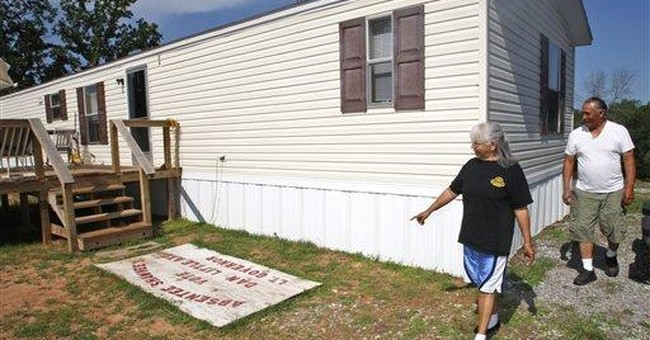 Indian tribes welcome much-maligned FEMA homes