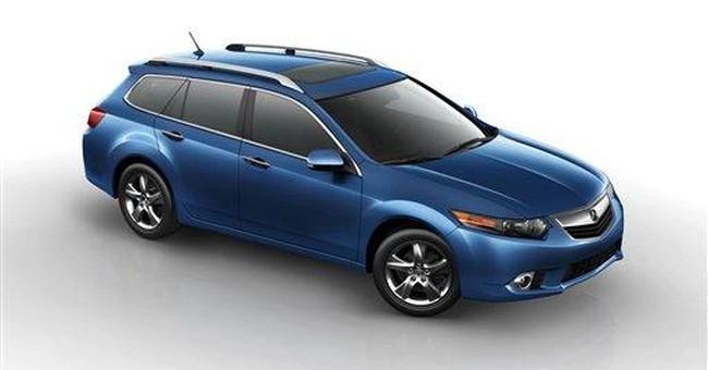 Acura adds station wagon