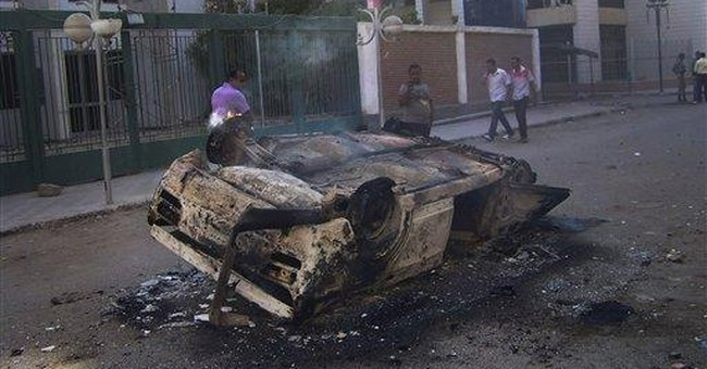 Riots erupt in Egyptian city over police trials