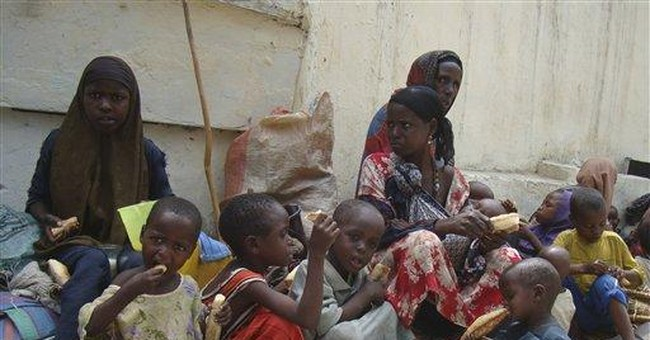Triangle of hunger batters millions in E. Africa
