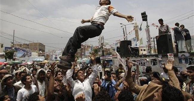 Yemen's injured president makes video address