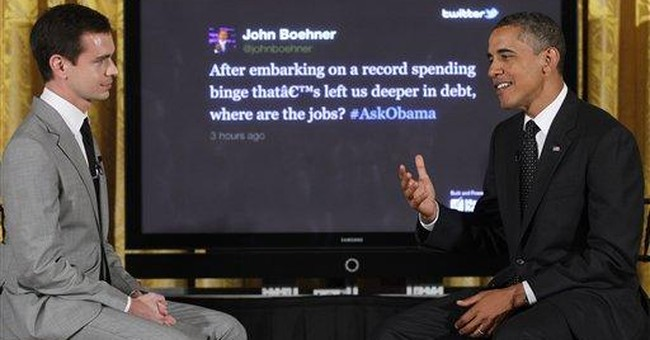 FACT CHECK: Obama's juggling act on Twitter