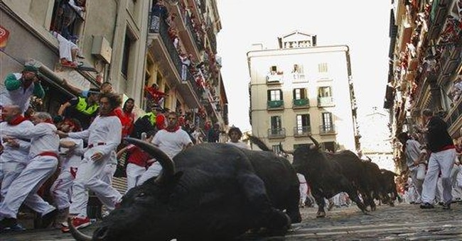 1 person gored, 6 hurt in running of the bulls