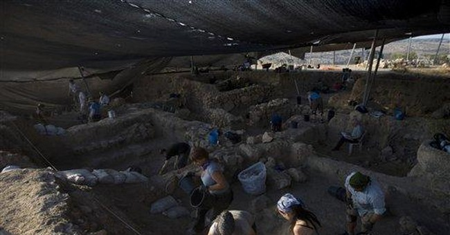 In Israel, diggers unearth the Bible's bad guys