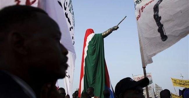 South Sudan celebrates birth with raising of flag