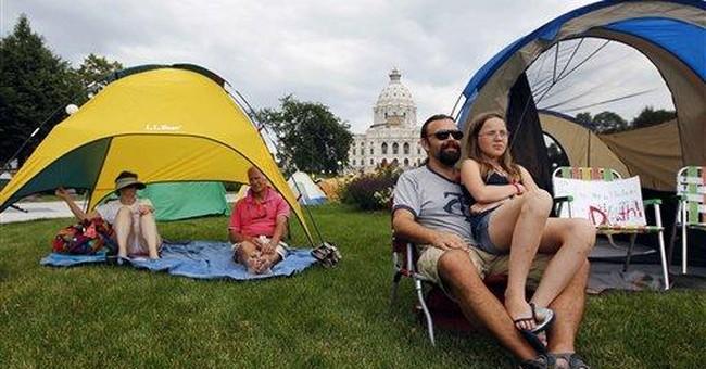 In Minnesota, little urgency to end shutdown