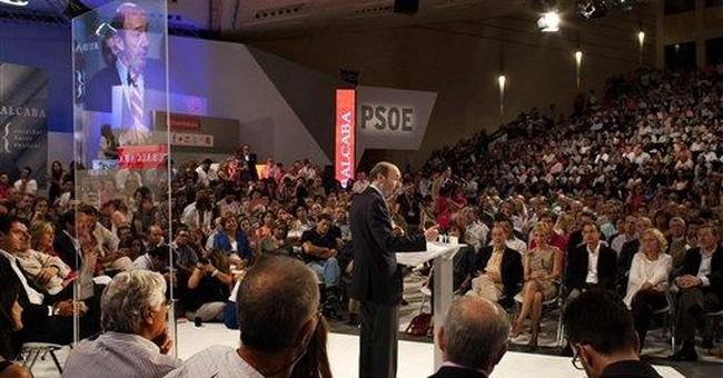 Spain's Rubalcaba launches election campaign