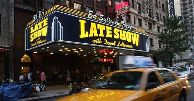 Atty: Man can't recall 'Late Show' theater episode