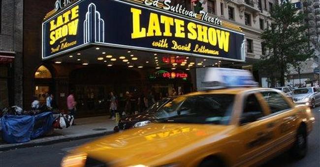 Arrest in break-in at NYC's Ed Sullivan Theater