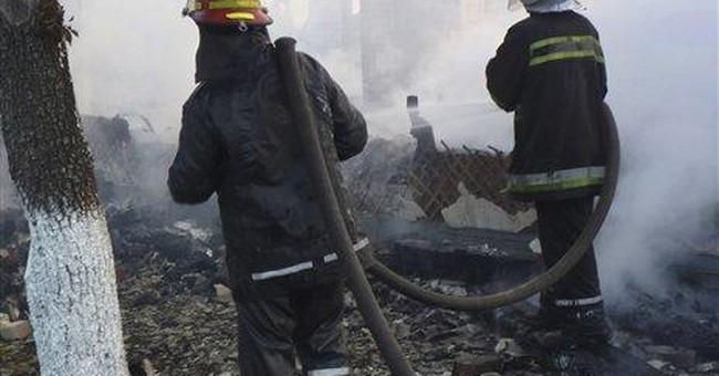 Fire kills 16 at Ukrainian senior home