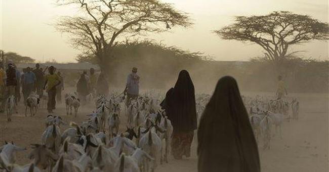 Somali children die en route to refugee camp