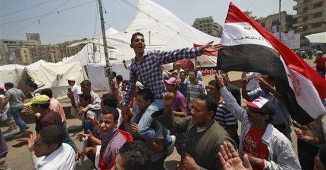 Egypt shares plunge on unrest