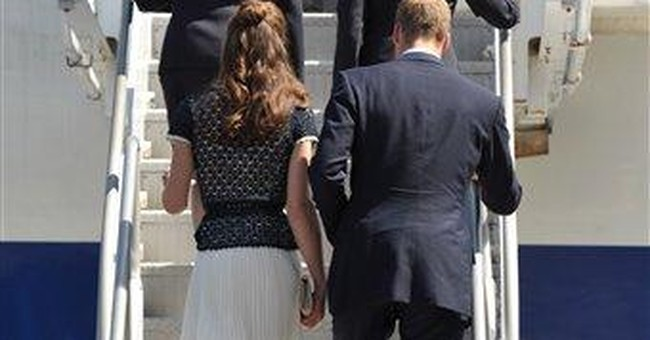 Royals charm Californians with casualness, grace