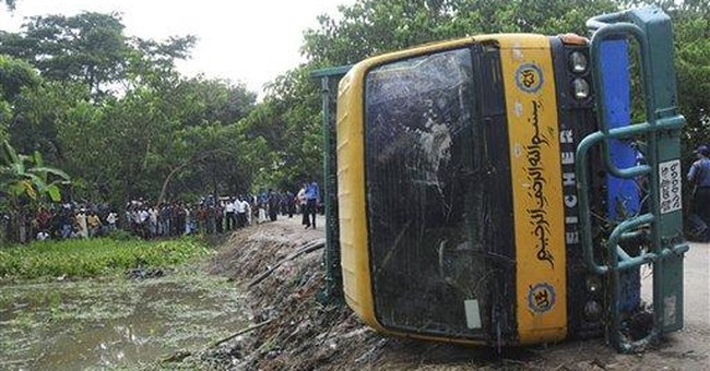 Bangladesh truck crash kills 44, mostly schoolboys