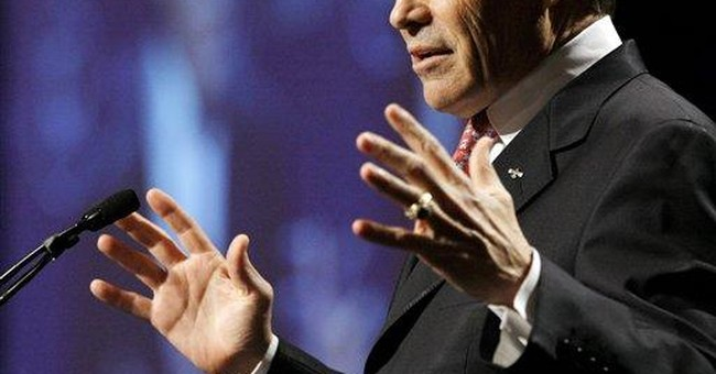 AP NewsBreak: Perry 2012 run likely, Iowa gov says